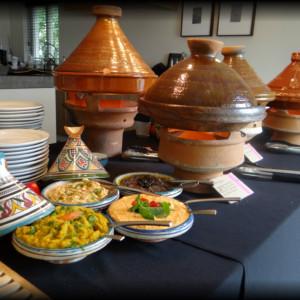 tajine buffet, tajine, marokkaans buffet